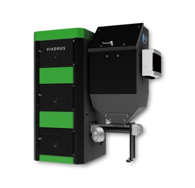 Viadrus A3W Zásobník 529L l Regulace WEB Kotel na tuhá paliva