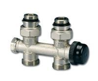 """HM ventil - pro středové připojení 1/2"""" x 3/4"""" EK - přímé"""