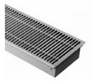 BOKI InFloor Podlahový konvektor FMK 110/290-4000mm - pozink Bez ventilátoru