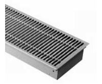 BOKI InFloor Podlahový konvektor FMK  90/180-1400mm - pozink Bez ventilátoru