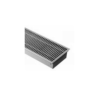 BOKI InFloor Podlahový konvektor FMK  90/420-2400mm - pozink Bez ventilátoru