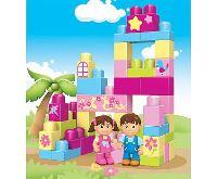 Kids World Logická stavebnice LOGIS pro holky 42 ks