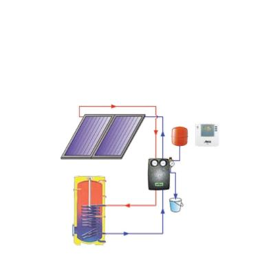 Reflex solární paket TV1 B - uchycení na hladkou tašku