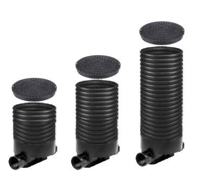 OSMA kanalizační šachta 315x1000 mm průchozí KG 200 poklop plný - 1,5t