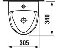 JIKA Urinál GOLEM - se senzorem (síťové napájení)