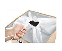 HomeLife Textilní koš na prádlo 62 l, béžový