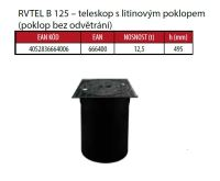 OSMA kanalizační šachta 315x3000 mm vícevtoková KG 160 poklop teleskopický plný - 12,5t