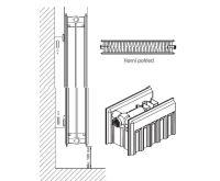 Radiátor Klasik R 22-554/ 400 - Radik Korado