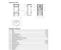 ABX Island 7 Aqua Krbová kamna s výměníkem 6kw - šedý plech mastek (vč.HD) | AKCE kazeta značkových vín