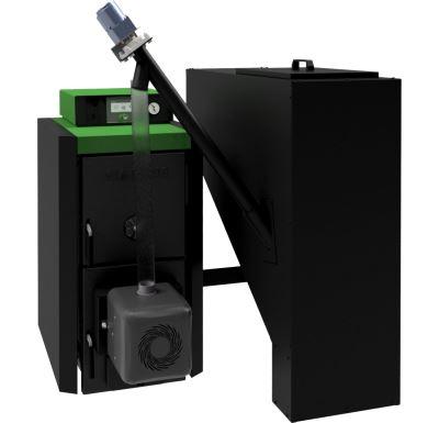 Viadrus A0C-A24P-00.17 Bez zásobníku, ovládání S CONTROL Kotel na tuhá paliva