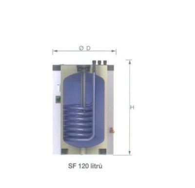 Reflex SF  120 Akumulační nádrž