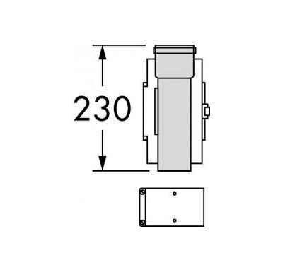 Vaillant Revizní otvor, O 60/100 mm, PP
