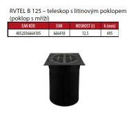 OSMA kanalizační šachta 315x3000 mm vícevtoková KG 160 poklop teleskopický mříž - 12,5t