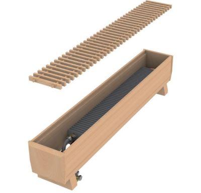 MINIB Podlahový konvektor COIL-DP 2000 mm Bez ventilátoru, včetně mřížky