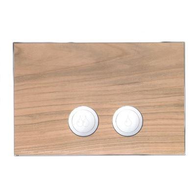 JOMO ovládací tlačítko AVANTGARDE - Dřevo třešeň/lesklý chrom