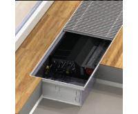 BOKI InFloor Podlahový konvektor F4C 140/340-1250mm - pozink S ventilátorem