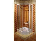RAVAK sprchový kout SUPERNOVA SKCP4 - 90 satin+transparent