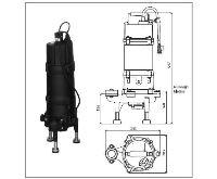 WILO kalové čerpadlo MTC 150-S