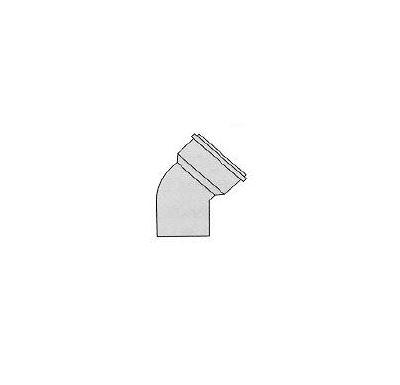Immergas Koleno 75- 45° hrdlo/nástavec s těsněním