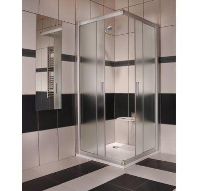 RAVAK sprchový kout RAPIER NRKRV2-90 satin+transparent