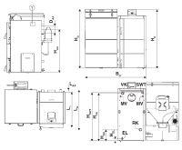 Dakon DOR N 25 Automat - Pelety Kotel na tuhá paliva | AKCE láhev značkového vína