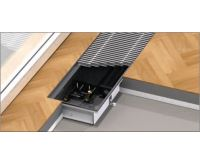 BOKI InFloor Podlahový konvektor F1P  90/260-6000mm - pozink S ventilátorem