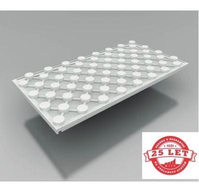 KIIPTHERM Systémová izolační STYRODESKA 1200x600x50 mm s fólií EPS200/ 0,72m2