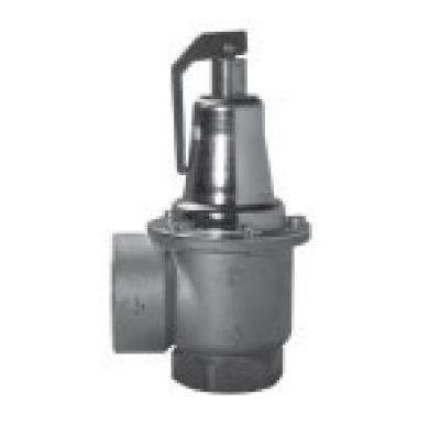 """DUCO pojistný ventil   6/4""""x 2""""  1 bar - membránový"""