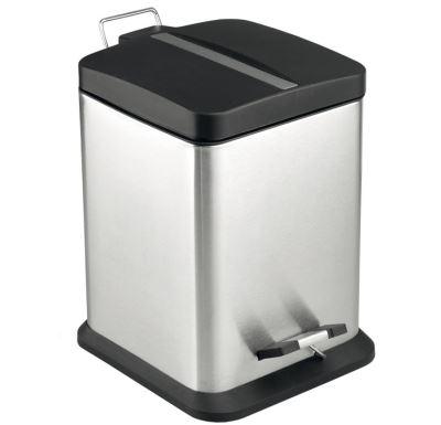 PROFI-RICH Odpadkový koš, nerez-mat 12l