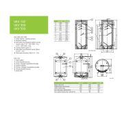 Dražice UKV 300 Akumulační nádrž bez vnitřního zásobníku s izolací