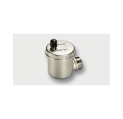 """Odvzdušňovací ventil automatický-rohový 1/2"""" - bez zpětné klapky"""