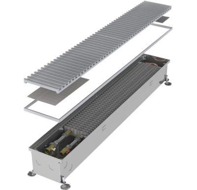 MINIB Podlahový konvektor COIL-KT-0  2500 mm S ventilátorem