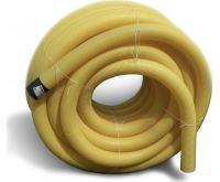 PVC drenážní trubka DN  80 žlutá děrovaná | 1m