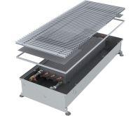 MINIB Podlahový konvektor COIL-PMW125 2000 mm Bez ventilátoru, mřížka 409 mm