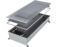 MINIB Podlahový konvektor COIL-PT105  1250 mm Bez ventilátoru, mřížka 292 mm