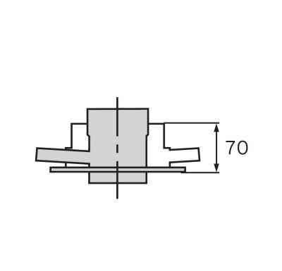 Vaillant Připojovací adaptér 80/125 mm