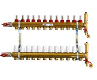 KIIPTHERM sestava rozdělovače PROFI N4 - 12 okruhů a skříně nadomítkové
