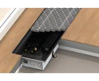 BOKI InFloor Podlahový konvektor F1T 140/290-2400mm - pozink S ventilátorem