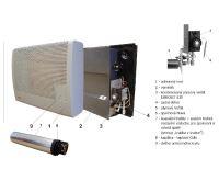 Mora-Top MAIA 3 kW podokenní plynové topidlo
