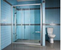 RAVAK Sprchové dveře Rapier NRDP4-180 satin+transparent
