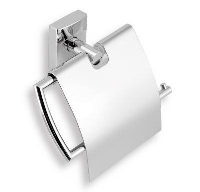 NOVASERVIS Závěs toaletního papíru s krytem  Metalia 12 chrom - 0238,0