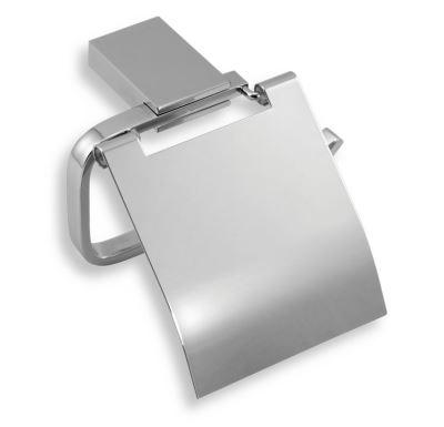 NOVASERVIS Závěs toaletního papíru s krytem  Metalia 9 chrom - 0938,0