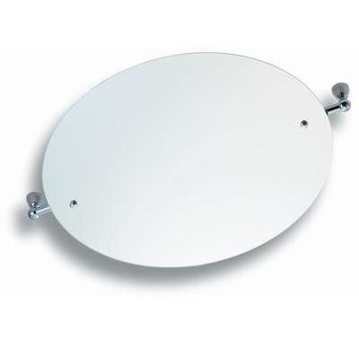 NOVASERVIS Zrcadlo s výklopným držákem kulaté 50 cm  Metalia 3 chrom - 6313,0