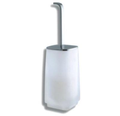 NOVASERVIS WC štětka na postavení  Metalia 4 chrom - 6433/1,0