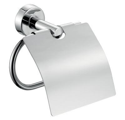 NOVASERVIS Závěs toaletního papíru s krytem Mephisto chrom - 6838,0