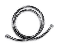 NOVASERVIS Sprchová hadice plastová 150 cm černá-chrom - BIFLEX/150,5
