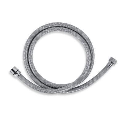 NOVASERVIS Sprchová hadice plastová 200 cm šedá - PVC/200,8