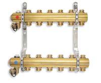 NOVASERVIS Rozdělovač s regulačními a mechanickými ventily 3 okruhy - RO03S
