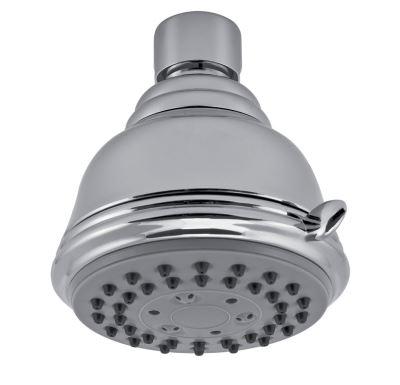 NOVASERVIS Pevná sprcha samočistící 3-polohová průměr 75 mm chrom - RUP/157,0