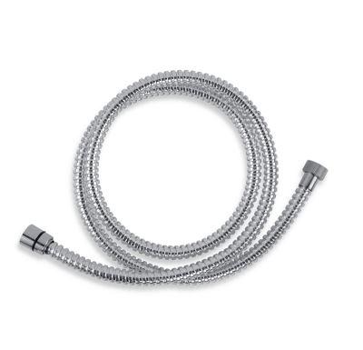 NOVASERVIS Sprchová hadice plastová 150 cm chrom - SPIRAL/150,0